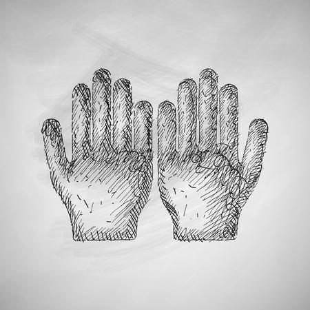 allah: hand icon