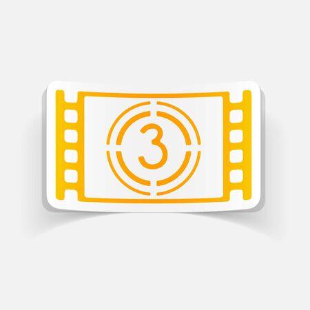 realistic design element: countdown Иллюстрация
