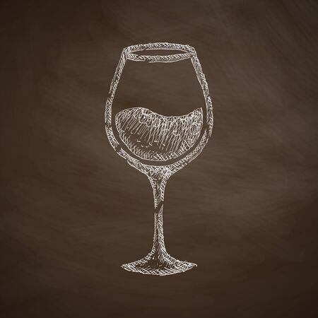 litre: wineglass icon
