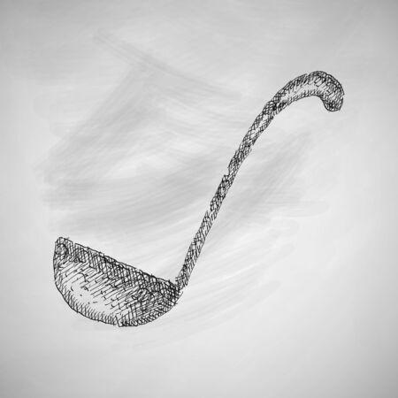 ladle: ladle icon