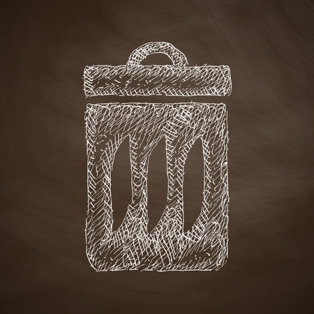 ecologist: trash can icon