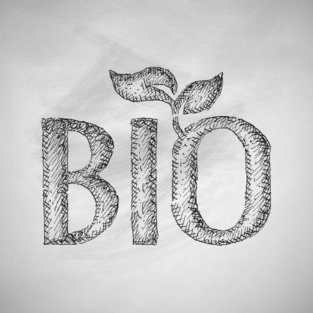 environmental analysis: bio sign icon