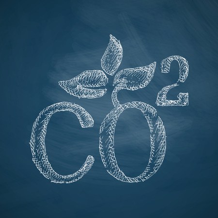 co2: co2 sign dioxide icon