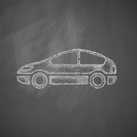 icono del coche Vectores