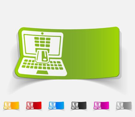 liabilities: realistic design element. e-commerce