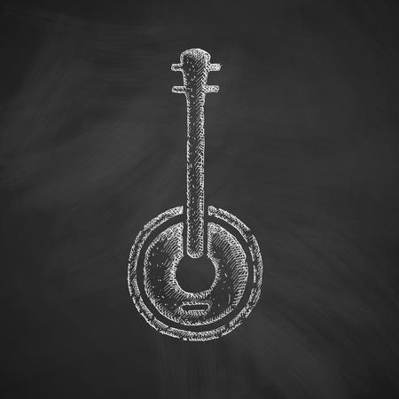 banjo icon Vetores
