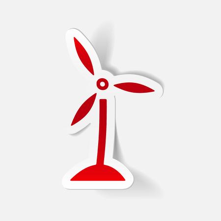 wind turbines: realistic design element: wind turbines
