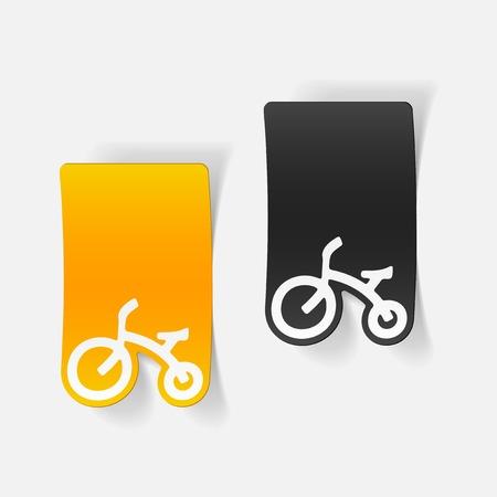 realistyczny element: Rower dla dzieci
