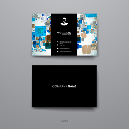 broshure: Set of brochure, poster templates in abstract geometric background style. Beautiful design and layout