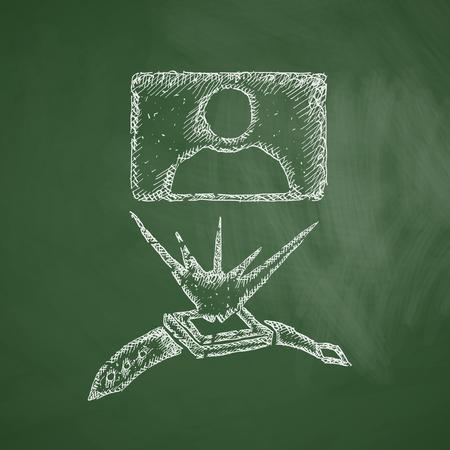 hologram: hologram icon