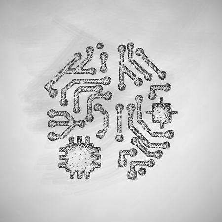 artificial intelligence: artificial intelligence icon