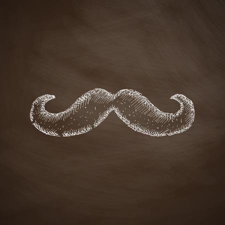 goatee: mustache icon