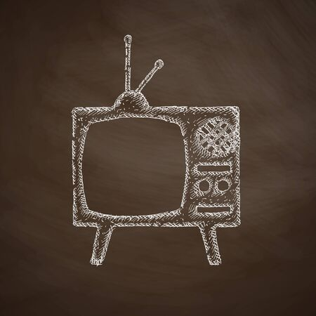 old tv: old tv icon