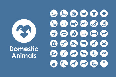 great dane: It is a set of pets simple web icons