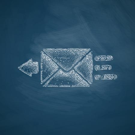 registered mail: envelope icon