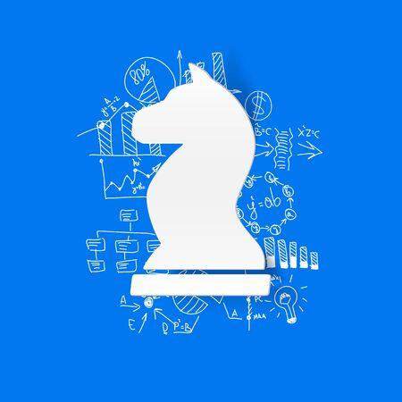 formulas: Drawing business formulas: chess