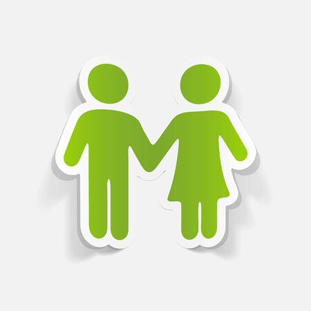 infatuation: realistic design element: couple in love