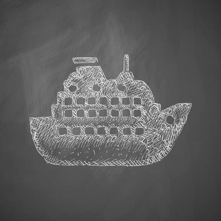 titanic: liner icon
