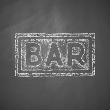 counter top: bar icon