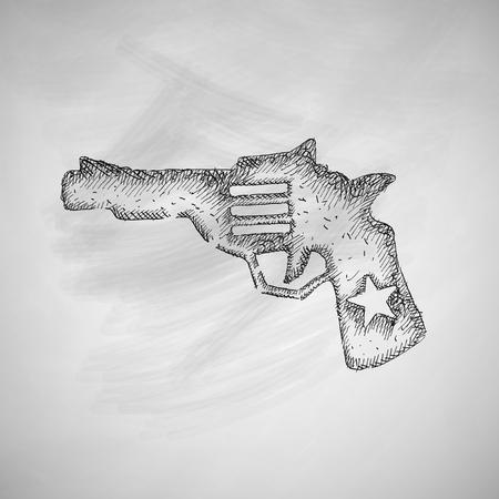 threaded: revolver icon