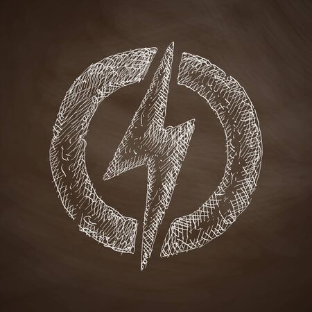 environmental analysis: lightning bolt icon
