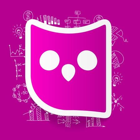 formulas: Drawing business formulas: owl