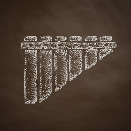 icono zampoñas Vectores
