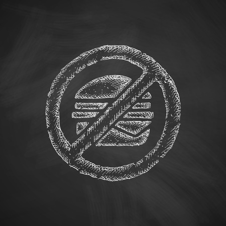 toasted sandwich: sandwich icon Illustration