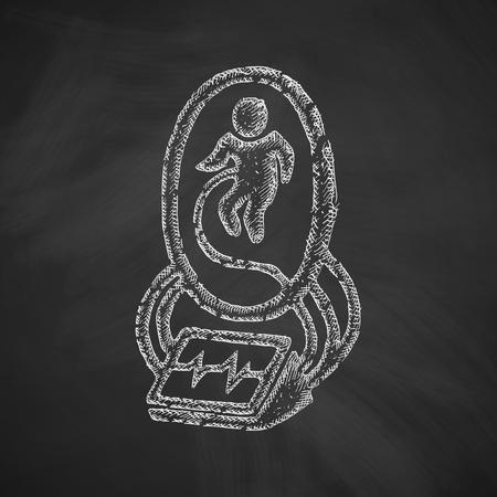 insemination: artificial uterus icon