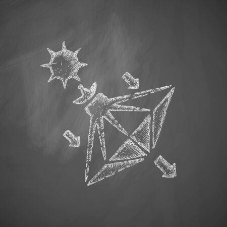 sails: solar sails icon Illustration