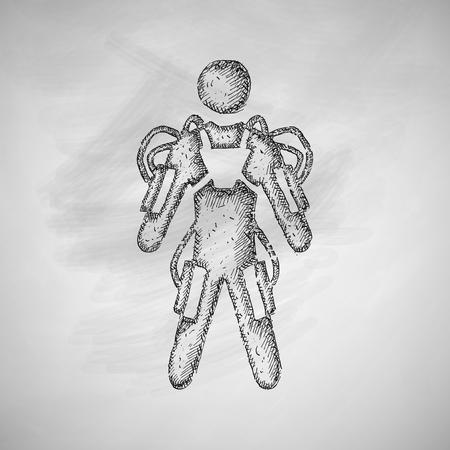 exoskeleton: exoskeleton icon