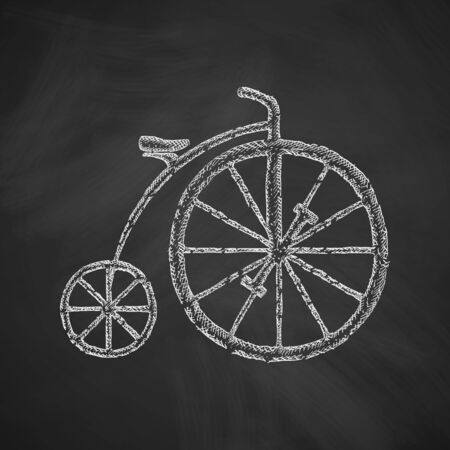two wheel: bicycle icon Illustration