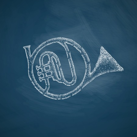 french horn: french horn icon