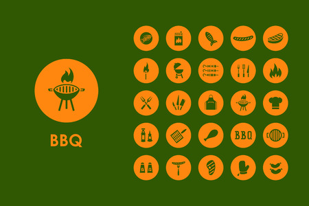 coals: It is a set of BBQ simple web icons