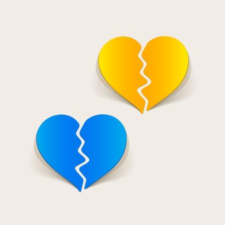 pacification: realistic design element: broken heart