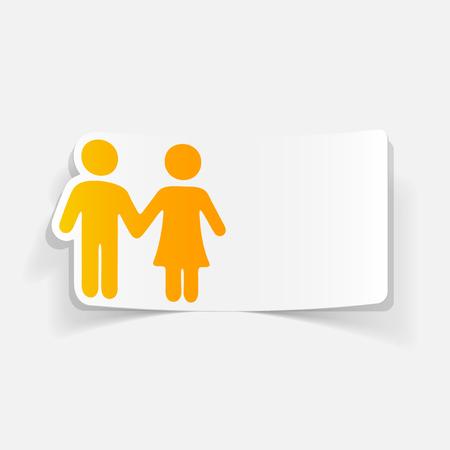 chastity: realistic design element: couple in love
