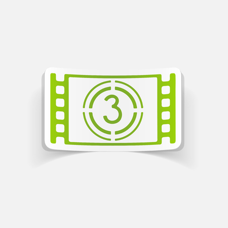 countdown: realistic design element: countdown Illustration