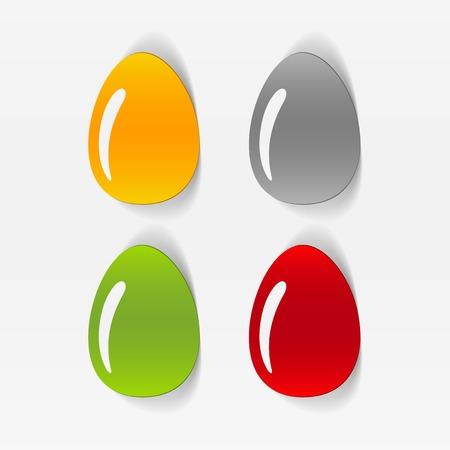 solemn: realistic design element: easter egg
