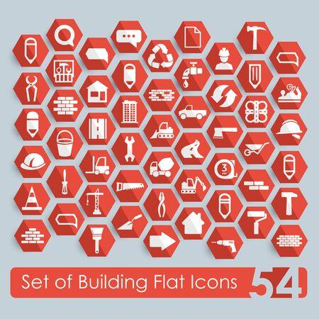 premises: Set of building icons
