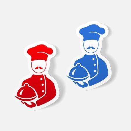 tunic: realistic design element. cook