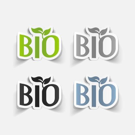 ecological adaptation: realistic design element: bio sign