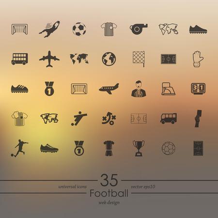 showground: Set of football icons
