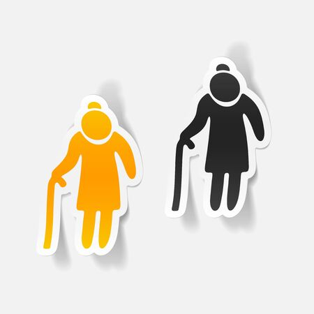 socialization: realistic design element: grandma
