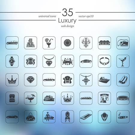 swimming shoes: luxury modern icons for mobile interface on blurred background