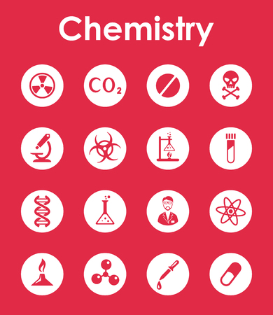 toxicity: It is a set of chemistry simple web icons