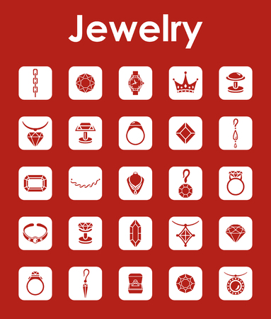 cufflink: It is a set of jewelry simple web icons