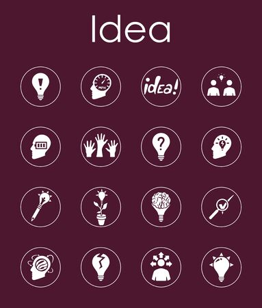incarnation: It is a set of idea simple web icons