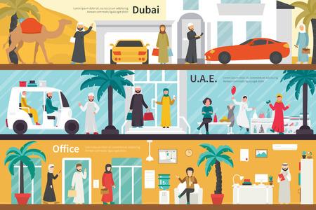Dubai UAE flat office interior outdoor concept web. Career Chart Fun