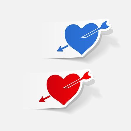 seducer: realistic design element: heart