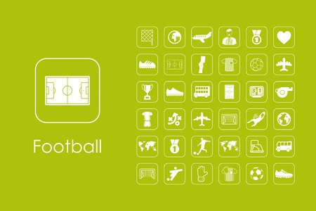 showground: It is a set of football simple web icons